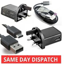 Genuine Sony Mains Wall Charger for Sony Xperia XZ Xperia X Compact Type C Cable
