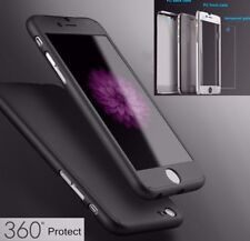 Genuine Hybrid 360° Apple iPhone 6S 6 Plus Shockproof Tempered Glass Case Cover