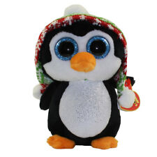 TY Beanie Boo Boos Christmas *** Penelope the Penguin ***  Various Sizes So Cute
