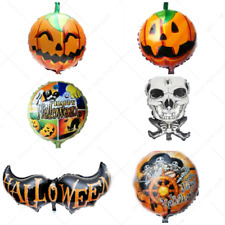 Large Foil Halloween Theme Party Balloons Latex High Quality Pumpkin baloons
