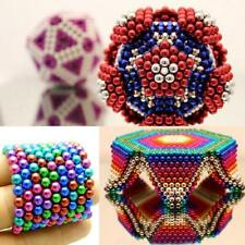 NEW Creative Magnet Ball Puzzle Cube Metal Magnetic Neodymium For Desk Gadget
