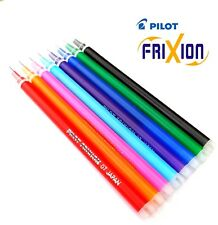 Pilot FriXion Erasable Pen Refills Replacement Ink Cartridge Medium 0.7mm Colour