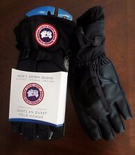 Canada Goose Down Black Gloves S Mens 5151M 525 Fill Down