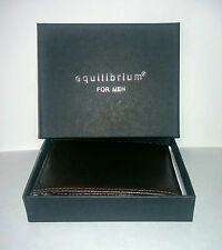 Equilibrium For Gents Quality Faux Leather Bifold Brown Wallets