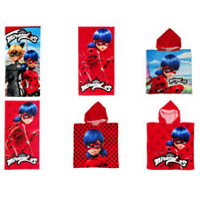 Miraculous Ladybug Towels and Hooded Ponchos (Assorted)