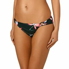 Roxy Bikini Bottoms - Roxy Blowing Mind 70s Pant   - Anthracite Mistery Floral