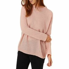The Hidden Way Jumpers - The Hidden Way Bluma Textured Jumper - Blush