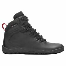 Vivobarefoot Tracker Firm Ground Black Men Leather Waterproof Hiking Ankle Boots