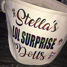 LOL Surprise Doll Toy Storage Tubs Perfect For LOL Surprise Balls Giant LOL Ball