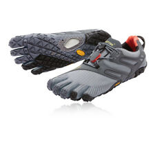 Vibram FiveFingers V-Trail Womens Grey Running Sports Shoes Trainers Pumps