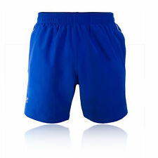 """Under Armour Coolswitch Run 7"""" Mens Blue Running Gym Shorts Pants Bottoms"""