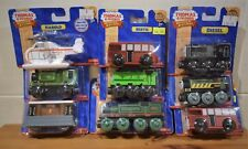 FISHER PRICE WOODEN THOMAS THE TANK ENGINE PERCY WHIFF LUKE DIESEL TOBY Or DUCK