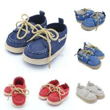 0-18M Casual Toddler Infant Sneakers Newborn Baby Boys Girls Lace-up Crib Shoes