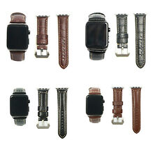 High Quality Leather Watch Strap Band for Apple Watch iwatch Series 1 2 3 42mm