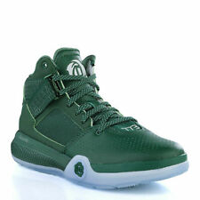 new concept db7f4 5b43f adidas Mens D Rose 773 Basketball Shoes Trainers Dark Green Smart Sneakers