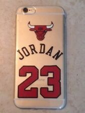 Cover Case Custodia in gomma trasparente iPhone 6 - 6S 7 Michael Jordan SUPREME