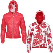 K-WAY LILY PLUS DOUBLE GRAPHIC Giacca DONNA Cappuccio prv/est NEW KWAY 918nulunb