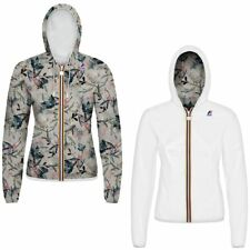 K-WAY LILY PLUS DOUBLE GRAPHIC giacca DONNA Cappuccio PRV/EST New KWAY 998eecqdb