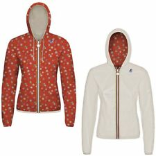 K-WAY LILY PLUS DOUBLE GRAPHIC giacca DONNA Cappuccio prv/est New KWAY 981zamtcq