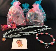 Moana & Maui themed pre-filled paper & organza party/gift/loot bags!!!