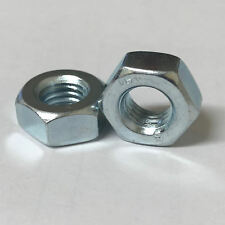 Zinc Plated Hexagon Full Nut M14 M16 M20 M22 M24 Hex Nuts DIN934