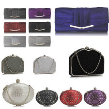 Womens Beautiful New Fashion Ladies Designer Evening Prom Party Clutch Bags