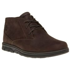 New Mens Timberland Brown Bradstreet Chukka Leather Boots Lace Up