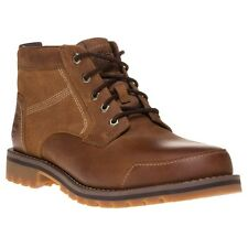 New Mens Timberland Tan Larchmont Chukka Leather Boots Lace Up