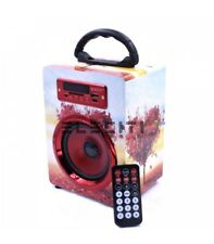 Altavoz Bluetooth Diseño Exclusivo Reproductor MP3 con USB y Radio Fm MOD:ELEE10