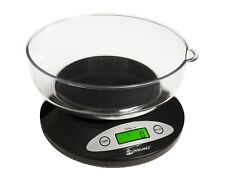 Electronic Digital Kitchen Diet Food Cooking Baking Weighing Scales With Bowl