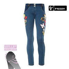 Freddy WR.UP Jeans Donna Skinny Fit WRUP1RJ07E J0/Y CON PACH COL. DENIM SCURO