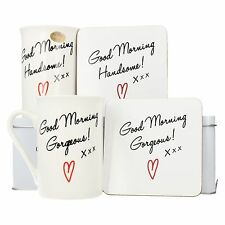 lp92122 Lesser & Pavey Good Morning MAGNIFICI & BELLO MUG REGALO ANNIVERSARIO