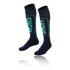 Mons Royale Womens Snow Tech Socks Blue Navy Sports Outdoors Breathable