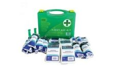 HSE Compliant 10 Person Easy Access First Aid Kit Medical Bag Emergency Travel