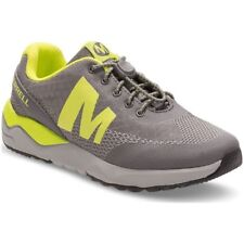 Merrell Boys ML Versent Low-Top Sneakers Grey Lime Shoes Trainers Toggle
