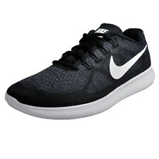 Nike Free RN 2017 Mens Running Shoes Fitness Gym Workout Trainers Black