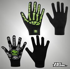 Junior Boys Branded No Fear Graphic Printed Knitted Gloves Accessories