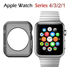 For Apple iWatch Series 1/2/3 Silicone TPU Bumper Case Protective Cover 38/42mm