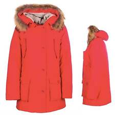 GIACCA GIACCONE FREEDOMDAY  PARKA INVERNALE CORTINA DONNA ROSSO  2017/2018