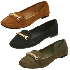 Donna Spot On microfibra slip on SADDLE VAMPIRA mocassini