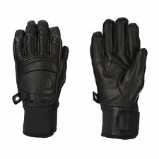 Hestra Snowboard Gloves - Hestra Army Leather Fall Line Snow Gloves - Black