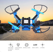 Building Blocks Drone RC Quadcopter Remote Control Helicopter Altitude Hold CO