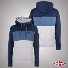 Mens Designer Lee Cooper Stylish OTH Cut And Sew Hoody Top Size S M L XL XXL 3XL