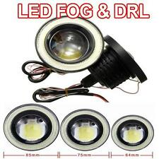 2x 7000k COB LED Anillo DRL ANGEL EYES Niebla Luces x 3 Tamaños Disponibles