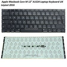 "Genuine Apple MacBook 12"" Keyboard Year 2015/ 2016 A1534 US Layout/ UK Layout"