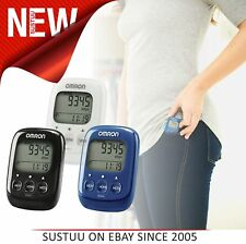Omron HJ325 Walking Style IV Step Counter│Activity Tracker│Pedometer│Blue│White