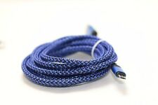 Blue Braided 10 ft USB data Cable Charging cord For Ipod Touch 6th Generation