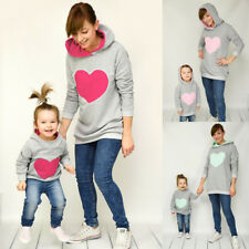 Couple Hoodie Christmas Family Matching Sweatshirts Women Kids Clothes Sweaters