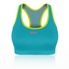 Shock Absorber Mujer Active Crop Top Azul Deporte Gimnasio Correr Transpirable