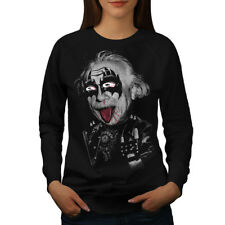 Albert Einstein Kiss Women Sweatshirt NEW | Wellcoda